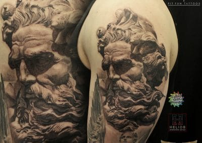 Greek god sleeve 2