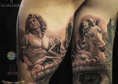 Greek god sleeve 5