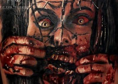 horror close up 2016