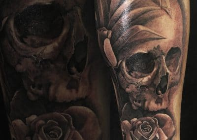 skull and rose 2018