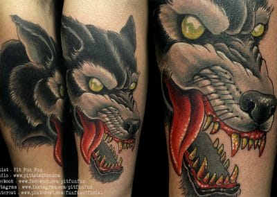 traditional wolf